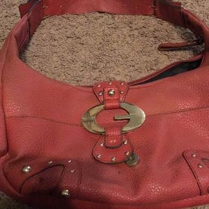 Mid size Red Guess purse